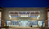 At the University of Connecticut, the new Populous-designed athletic facility is one of the most ambitious projects ever taken on by the school, clocking in at over 75,000 square feet.