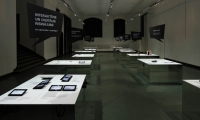 The exhibition INFORMATION was dedicated to different sides of graphic design and embraced the basic principles of graphic design in its spatial and graphic configuration.