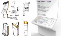 Fig. 12. District Library (Peter Kristiansen, Colleen Hancuch, Eileen Murphy, Brooke Turrell)