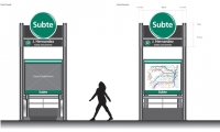 Rebranding the system and creating readable maps were Diseno Shakespear's two primary goals for the Buenos Aires subway system.