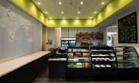 The combinations of elements in the environment accurately depict the spirit of the café as welcoming, modern, affordable, casual and community-oriented, but more importantly capture the cultural and dynamic essence of the Culinary Arts Program