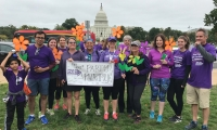 My volunteer work for the Alzheimers Association of the Nation's Capital