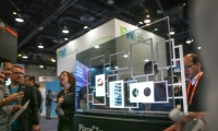 At DSE 2015, Planar debuted its clear OLED display technology.
