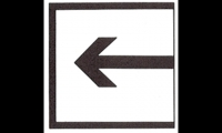 Arthur also created a set of pictograms, which included (from left) entrance, exit, no touching, no standing, no sitting. (Images: Standard Sign Manual, Expo 67)