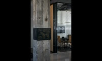 Volume added a rich storytelling layer with interpretive panels wrapped around original concrete columns.