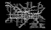 Traditional wayfinding maps, such as this map of the London Tube, don't work well for visually impaired people.