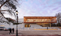 Writers Theatre has a new home in Glencoe, Ill., designed by Studio Gang Architects.