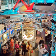 The Sony Wonder Technology Lab, a 14,000 sq.ft. interactive museum featured 20 unique hands-on exhibits that utilized Sony technologies.