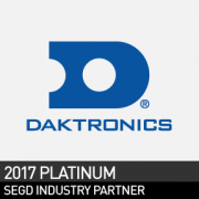 Daktronics, SEGD 2017 Platinum Industry Partner