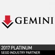 Gemini, SEGD 2017 Platinum Industry Partner