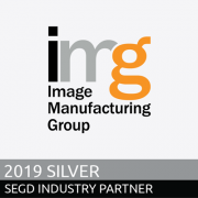 Image Manufacturing Group, 2019 SEGD Sliver Industry Partners