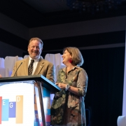 2019 Conference Co-Chairs, Grady Brown and Leslie Wolke wrap up a successful Conference Experience.