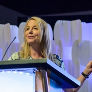 Paula Scher, Pentagram and SEGD Fellow, speaking about her experiences as a designer.