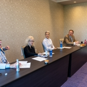 Conference attendees participating in the Impacts of ADA session.