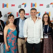 Lorem Ipsum staff at the 2019 SEGD Conference Experience in Austin, TX.