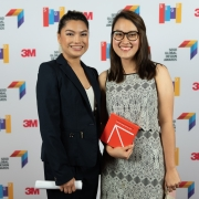 Alwyn Brownewell and Nadia Tran, University of Houston, at the 2019 SEGD Conference Experience in Austin, TX.