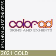 Color-Ad, 2020 SEGD Gold Industry Partner