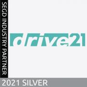 2021 SEGD Silver Industry Partner, drive21