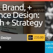 Don't miss this 360-degree perspective on process and rethinking design in alignment with strategy