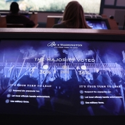 Visitors are able to see the results of each vote. (image: gameplay graphics)