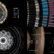 Data visualization approach that was developed as a way to synthesize and communicate the LA Phil's performance history.  (image: composite of graphs)