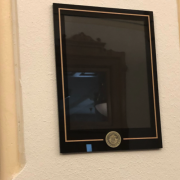 April 2020: Installation of Changeable Signs
