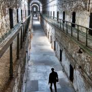 Eastern State Penitentiary, Man in Cellblock 7, Photo Credit: John Van Horn