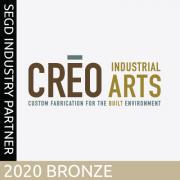 2020 SEGD Bronze Industry Partner, CREO Industrial Arts