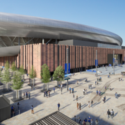 Endpoint Scores Stadium Wayfinding Project For Everton Football Club