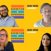 2020 Exhibition and Experience Q+A session with Barry Pousman, Joel Krieger, Cybelle Jones and Pavani Yalla.