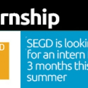 Learn About Experiential Graphic Design, Intern with SEGD in Washington DC this summer.