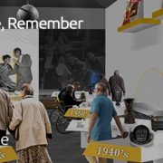The Re: recall, relive, remember exhibition will have six main areas, focusing on explaining the disease of dementia, providing community advice for caregivers, and presenting the main gallery space for individuals with dementia to interact with museum ob
