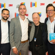 Lance Wyman and the Lichtwerke GmbH Team at the 2017 SEGD Conference Experience Miami