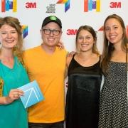 Franziska Steinkohl, Justin Molloy, Nicki Gordon, Sarah Joubert, at the 2017 SEGD Conference Experience Miami