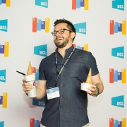 Tristan Valencia at the 2017 SEGD Conference Experience Miami