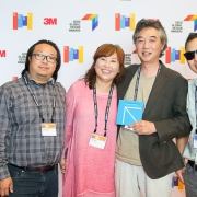Sherwood, Daniel, Lisa and Paul Choe and team at the 2017 SEGD Conference Experience Miami