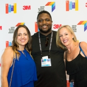 Amanda Burstein, Anthony Morrison, Gretchen Wilde at the 2017 SEGD Conference Experience Miami