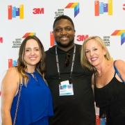 Amanda Burstein, Anthony Morrison, Gretchen Wilde at the 2017 SEGD Conference Experience Miami
