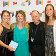 Nicki Gordon, Franziska Steinkohl, Lance Wyman, Sarah Joubert, 2017 SEGD Conference Experience Miami
