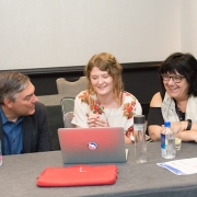 John Lutz,Franziska Steinkohl and Kelly Kolar Portfolio Review, Miami