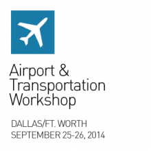 Graphic for the 2014 SEGD Airports and Transportation Workshop