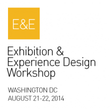 Graphic for the 2014 SEGD Exhibition and Experience Design