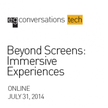 Graphic for the Webinar: Beyond Screens
