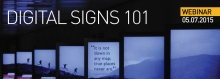 Digital Signs 101 Header