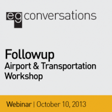 2013 SEGD Airports Follow up Webinar banner