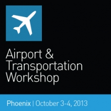2013 SEGD Airports and Transportation Workshop banner