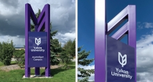 Fathom Studio Develops Signage System for Yukon University