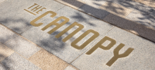 BrandCulture's branding & wayfinding designs welcome visitors to The Canopy