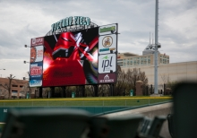 Daktronics Creative Services Bring LED Displays To Life For Indianapolis Indians