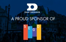 Daktronics Continues Enduring Support of SEGD as 2018 Platinum Partner